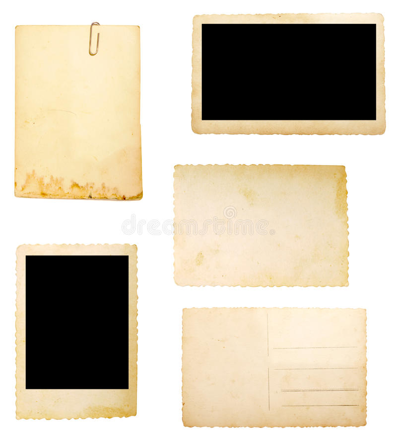 Free Brown Old Paper Note Background Stock Photo - 12688420