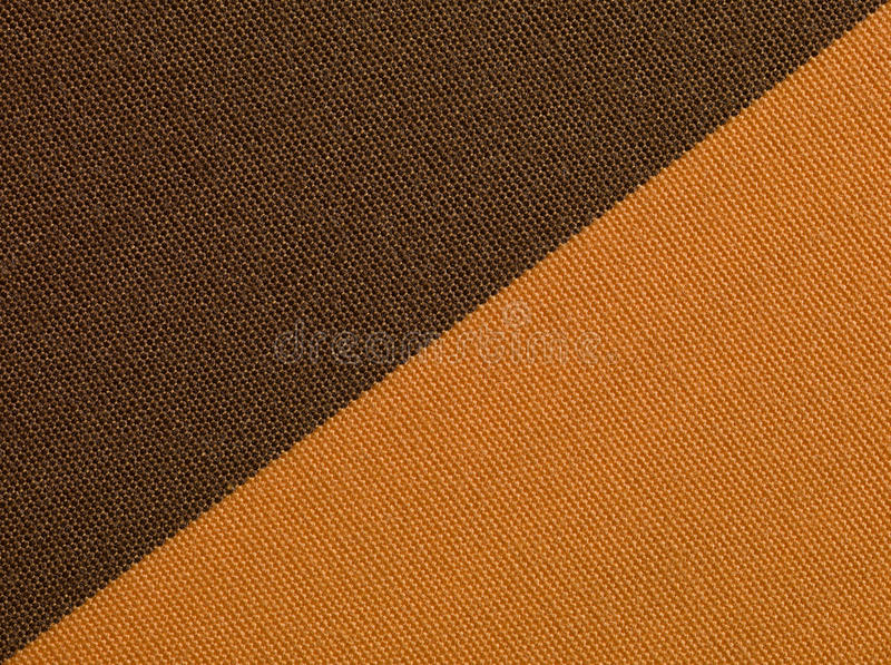 Brown orange fabric texture macro