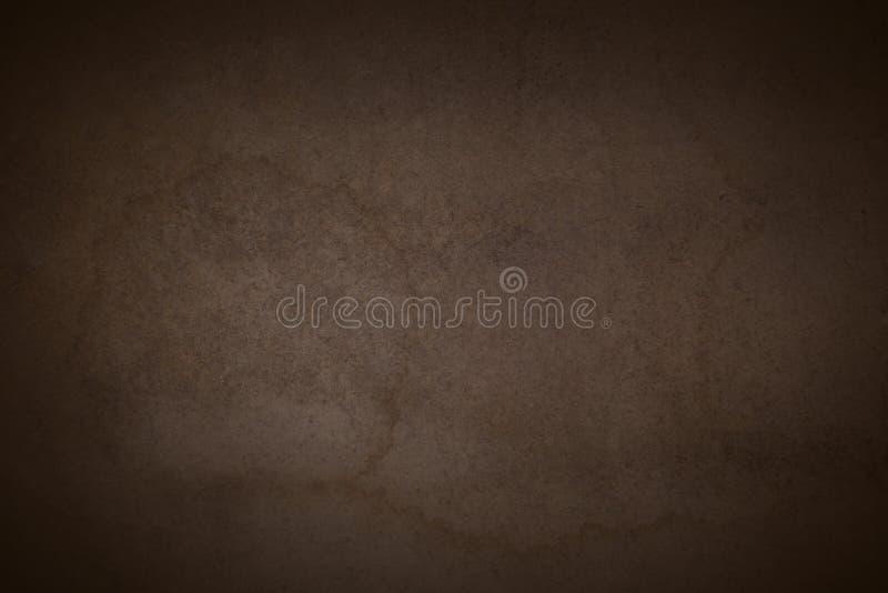 Brown oscuro Gray Old Background fotografía de archivo libre de regalías