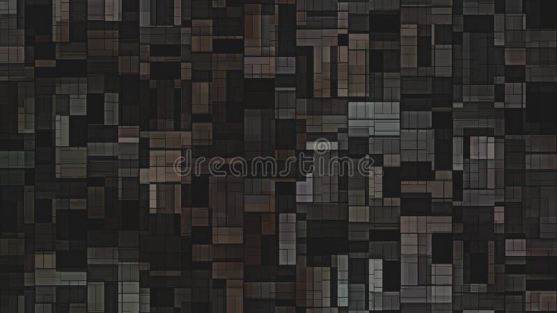 Brown płytki ściany tła graficznej sztuki projekta Piękny elegancki Ilustracyjny tło royalty ilustracja