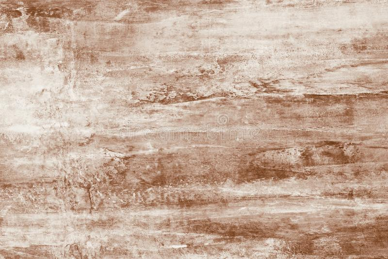Brown paint stains on canvas. Abstract illustration with brown blots on soft background. Creative artistic backdrop. Abstract patt royalty free stock photography