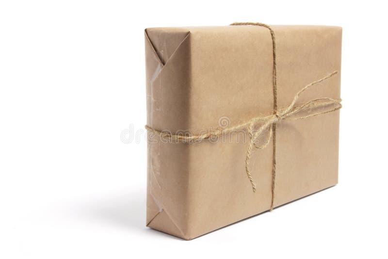 Brown-Paket lizenzfreies stockfoto