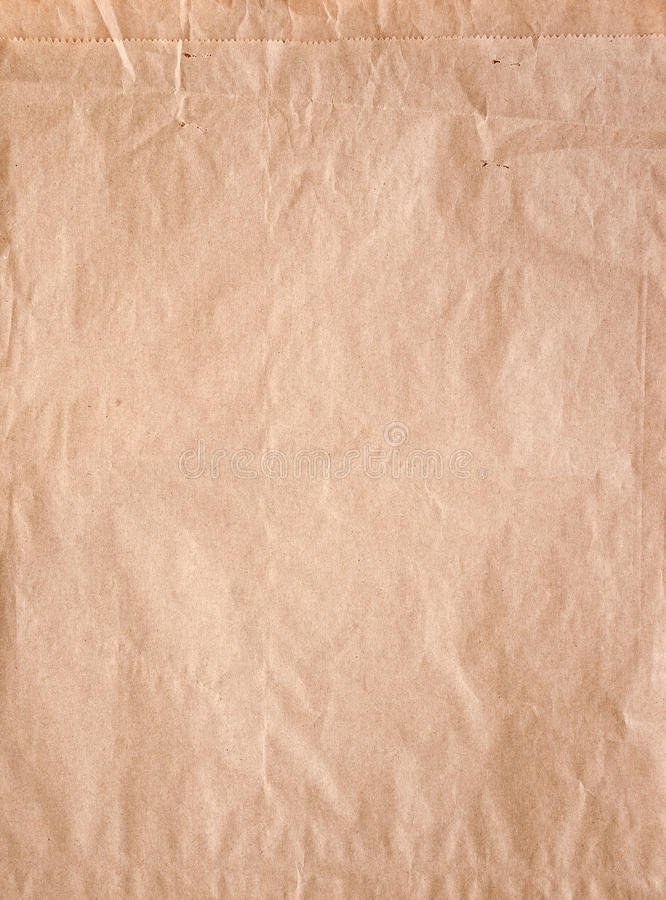 Brown paper bag. Texture / background