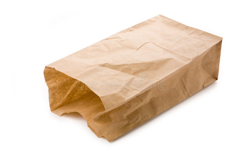 Download Brown paper bag stock photo. Image of container, paper - 2305886