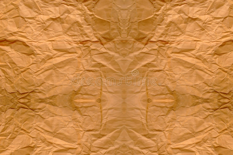Brown paper bag background royalty free stock photos