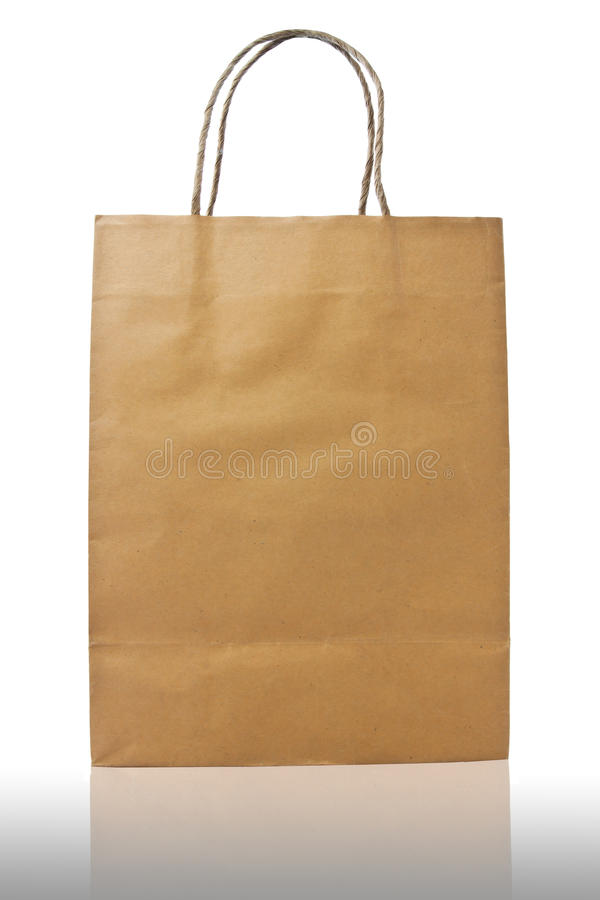 Download Brown paper bag stock image. Image of design, environmental - 39505393
