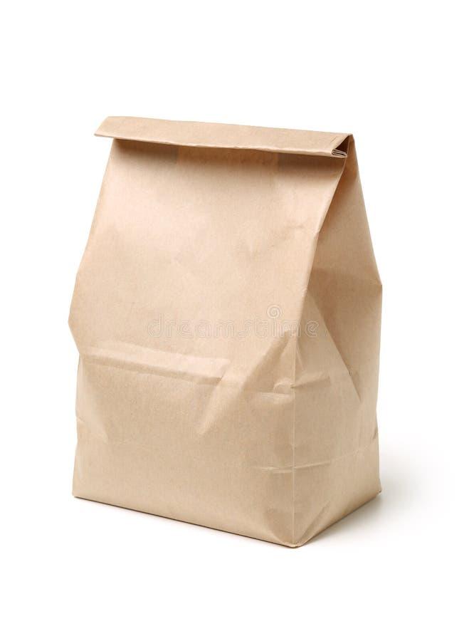 Brown Paper Bag royalty free stock images