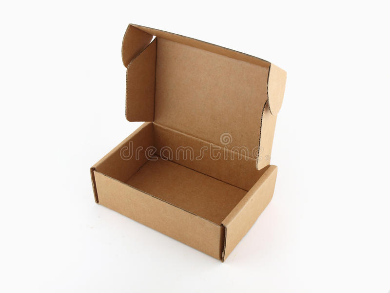 Download Brown paper box stock photo. Image of board, deliver - 20045234