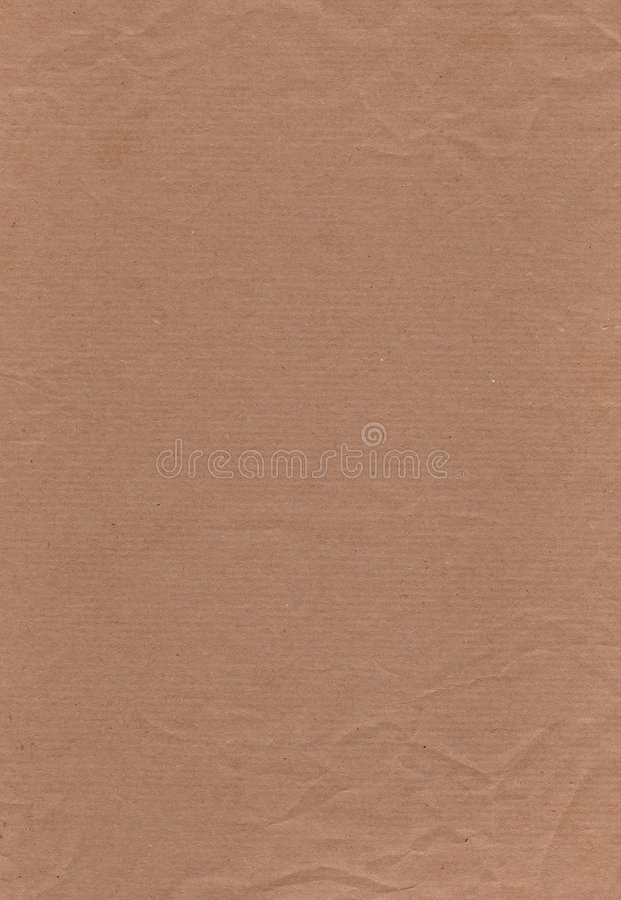 Brown Paper full page. Hi resolution image of Brown paper royalty free illustration