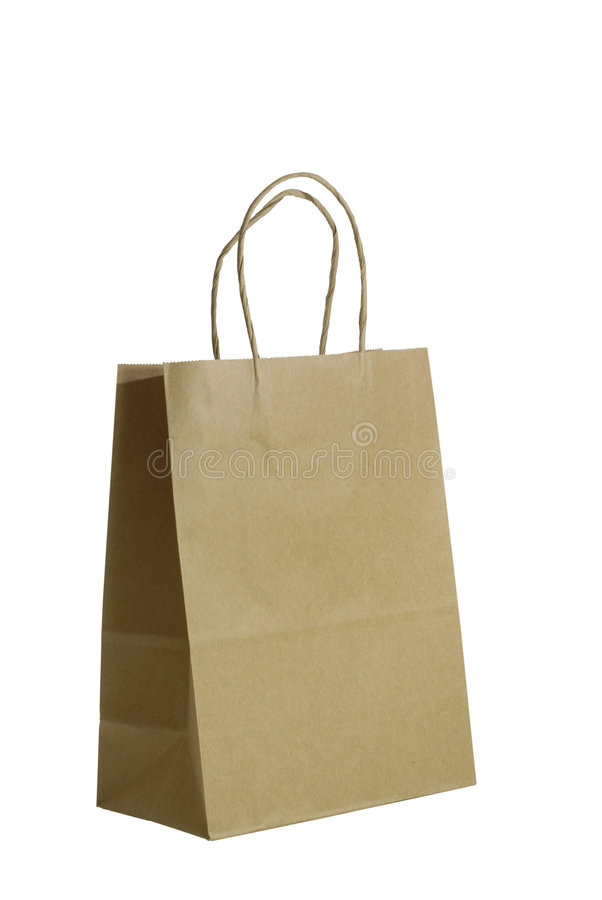Free Brown Paper Gift Bag Stock Images - 888234