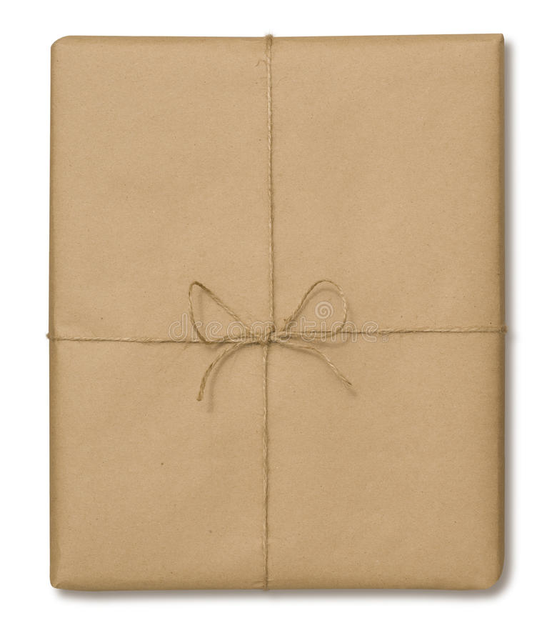 Free Brown Paper Package Stock Image - 9421341