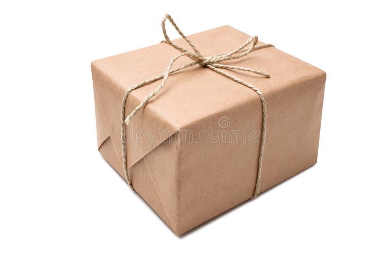 Download Brown paper parcel stock photo. Image of decoration, gratitude - 21886294