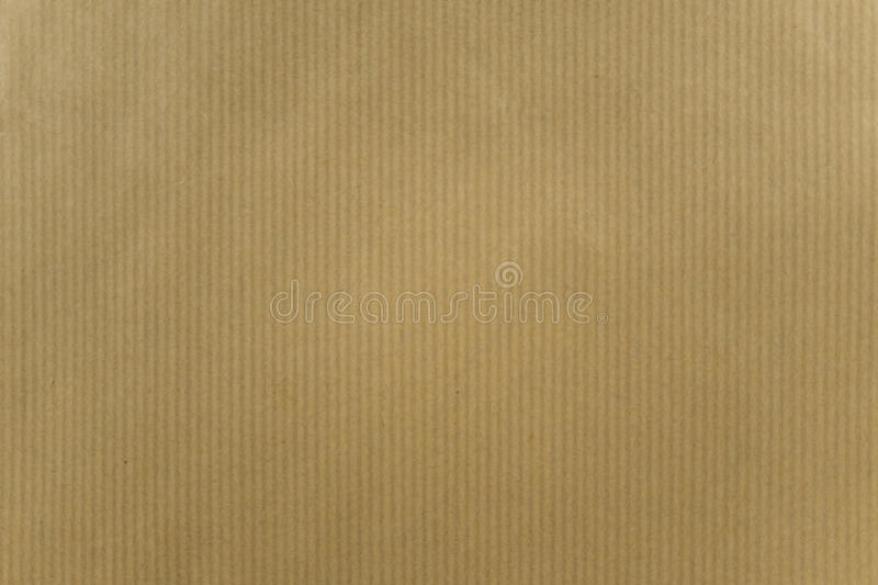 Brown paper with stripe pattern stock photos
