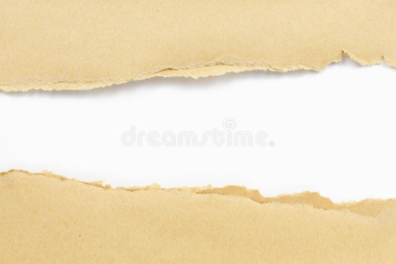 Download Brown paper torn stock image. Image of mailman, parcel - 17486431