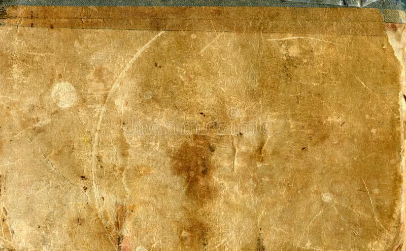 Brown paper. Vintage paper background stock photography