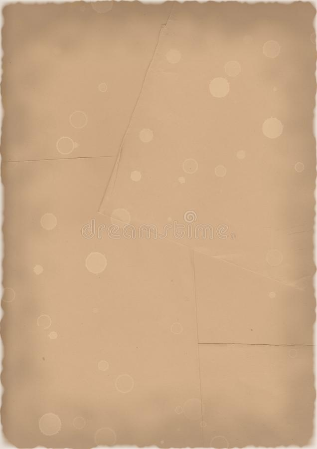 Brown papers stock image