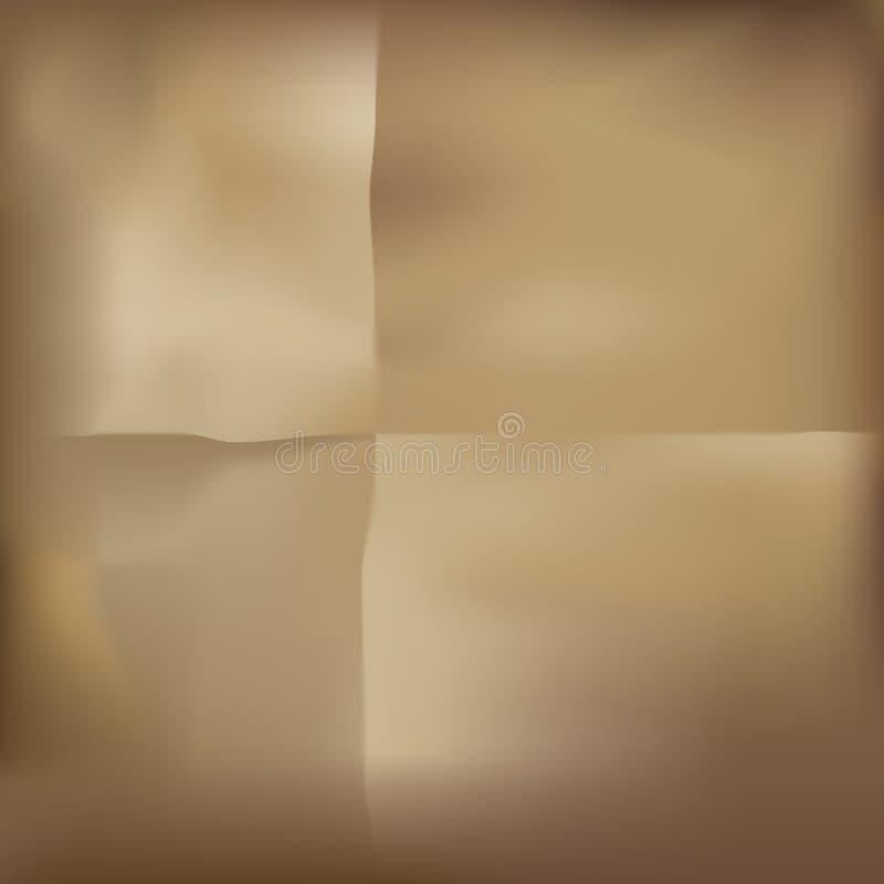 Brown-Papier lizenzfreie abbildung