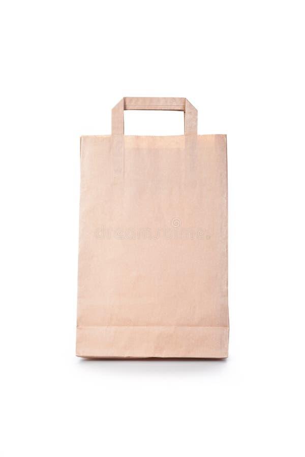 Brown-Papier-Einkaufstasche Stockfoto - Bild von carry, beutel: 27127140