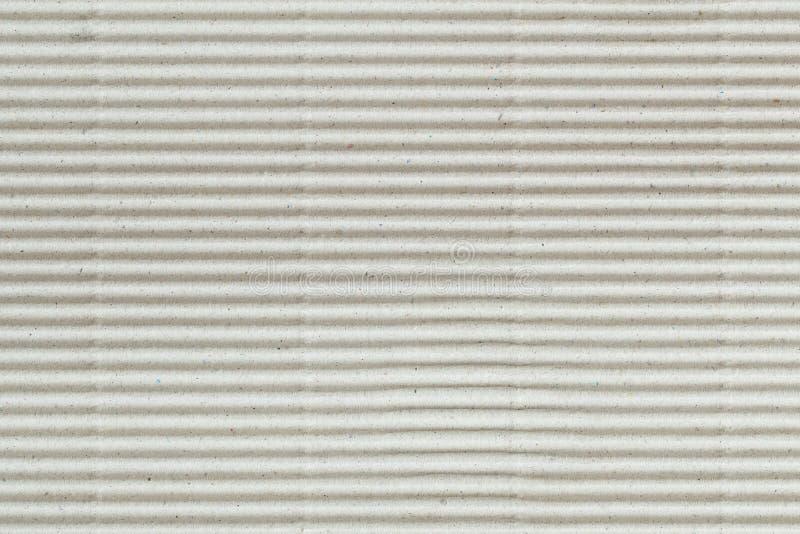 Brown papier gofruj?cy bezszwowa deseniowa kartonowa tekstura jako t?o dla prezentacji, abstrakt przetwarza papierow? tekstur? dl obrazy stock