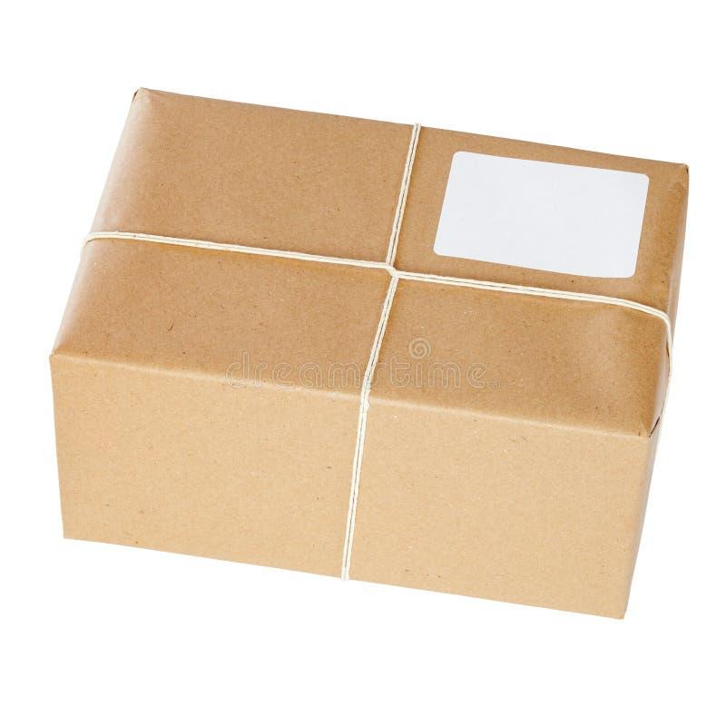 Brown-Papier-Paket lizenzfreies stockbild