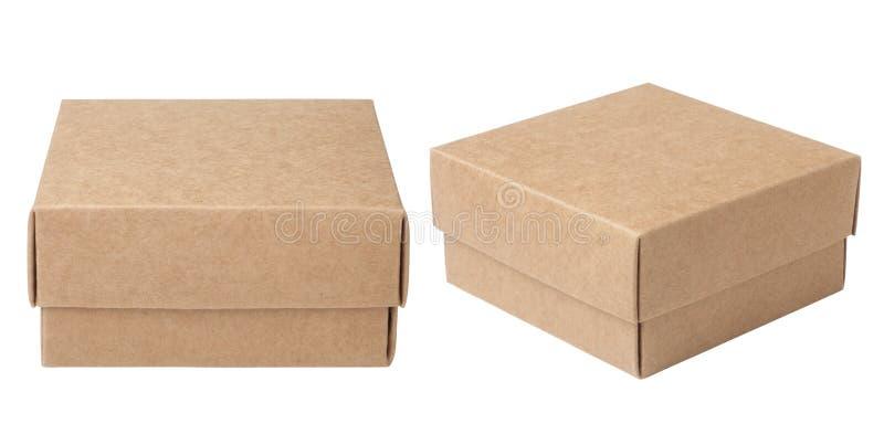 Download Brown papierowy pude?ko zdjęcie stock. Obraz złożonej z pudełko - 41953714