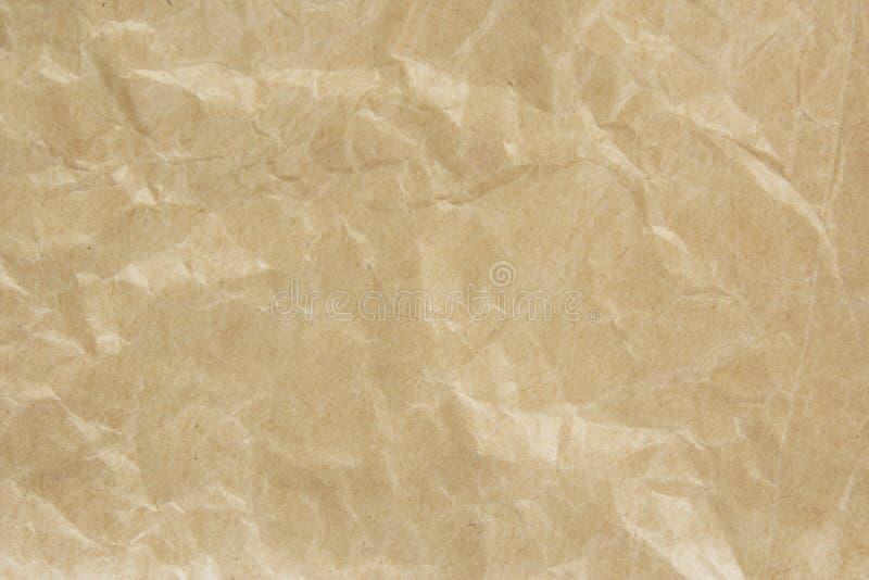 Brown-Papiertüte lizenzfreies stockbild