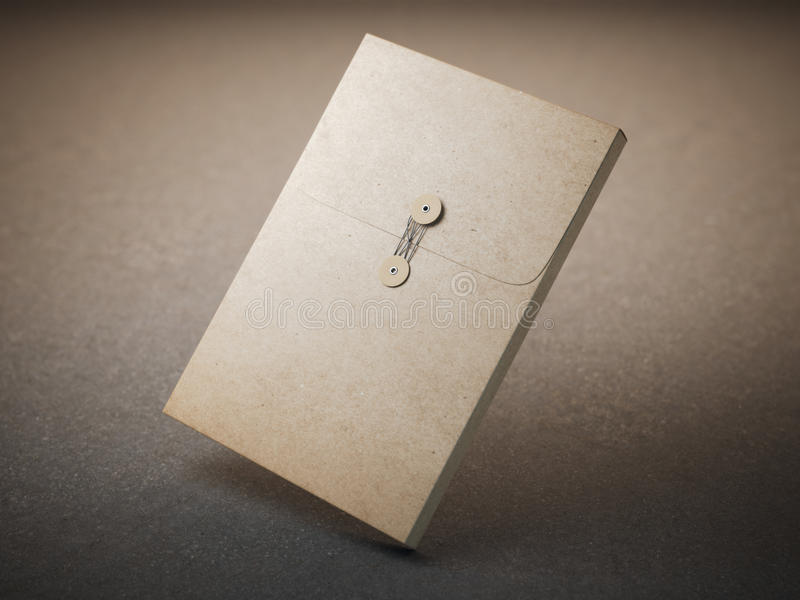Brown papieru falcówka zdjęcia stock