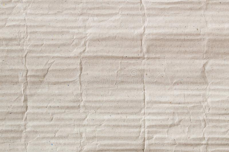 Brown papieru gofrująca kartonowa tekstura jako tło dla prezentacji, abstrakt przetwarza papierową teksturę dla projekta zdjęcie stock