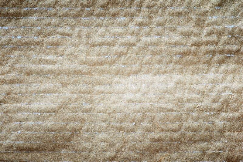 Brown papieru tekstura paskująca zdjęcie royalty free