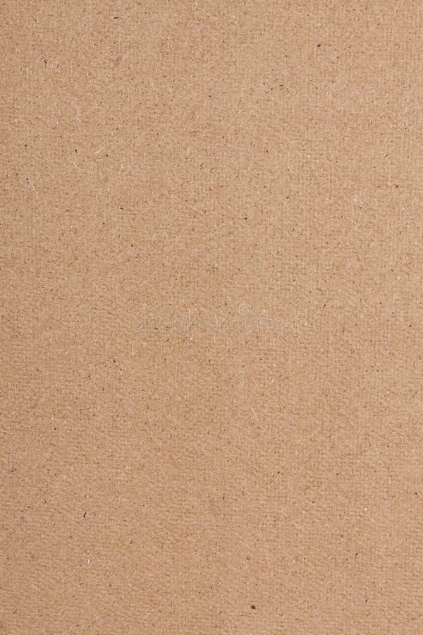 Brown papieru tekstury kartonowy tło fotografia royalty free