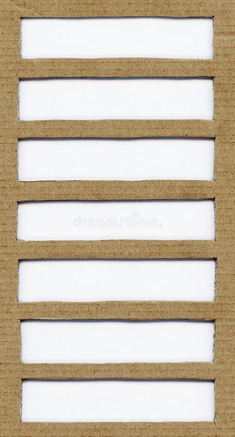 Brown-Papppapierbeschaffenheit mit Kopienraum, Raum für Text, Gestaltungselement stockbild