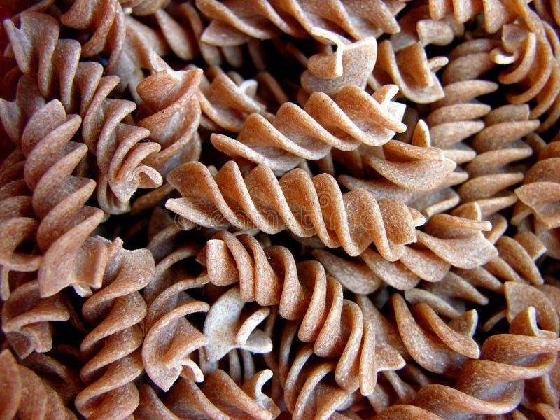 Brown pasta royalty free stock image