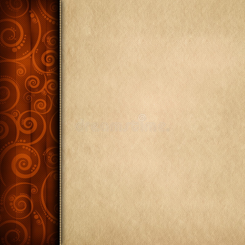 Download Brown Pattern Background And Paper Sheet Stock Image - Image of handmade, page: 39510585
