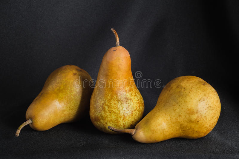 Brown Pear stock image