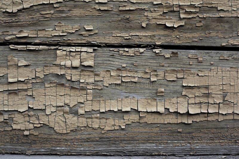 Brown a peint le fond en bois photo stock