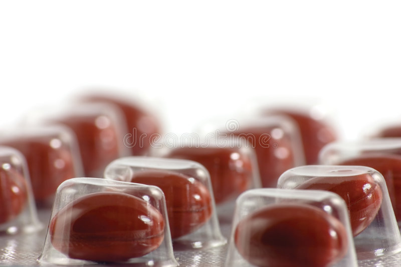 Brown-Pille-Blase stockfotografie