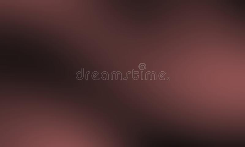 Brown plamy abstrakcjonistycznego tła wektorowy projekt, kolorowy zamazany ocieniony tło, żywa koloru wektoru ilustracja royalty ilustracja