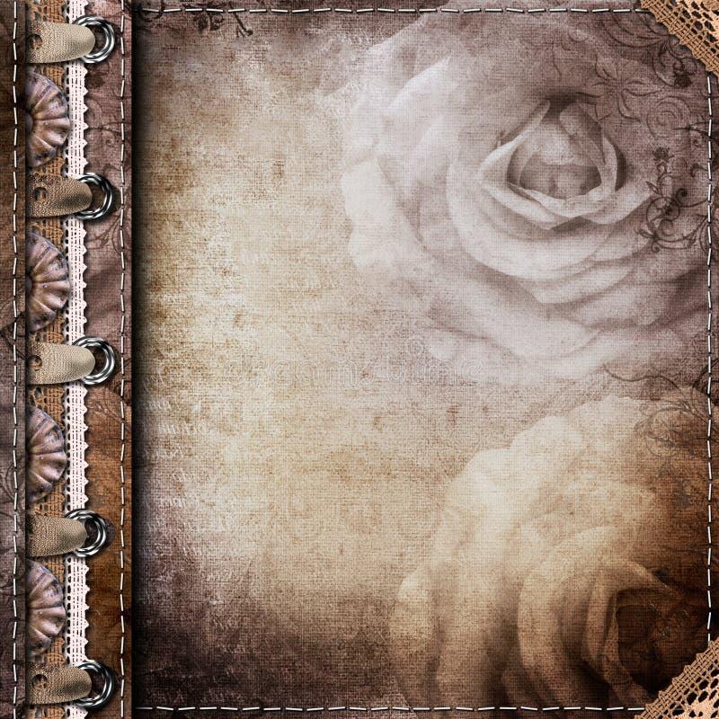 Download Brown Pokrywa Dla Albumu Z Fotografiami Ilustracji - Ilustracja złożonej z album, pokrywa: 41954988