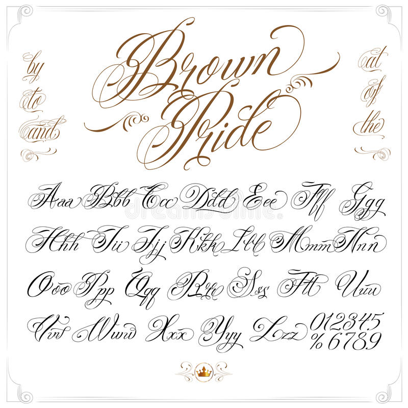 Brown pride tattoo font set stock vector illustration of pride download brown pride tattoo font set stock vector illustration of pride letter 73811370 thecheapjerseys Image collections