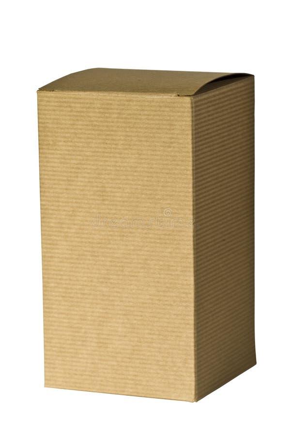 brown pudełkowata dar odrobinę wyższa fotografia royalty free