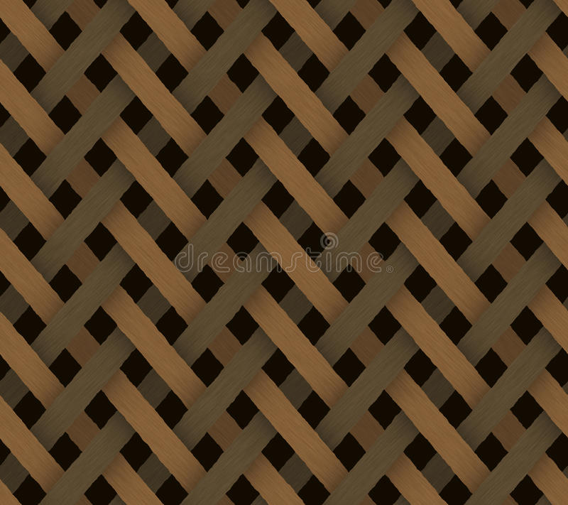 Brown Ratan Background Royalty Free Stock Photography