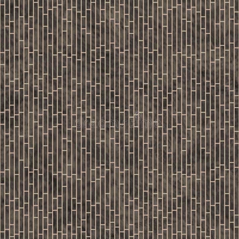 Brown Rectangle Slates Tile Pattern Repeat Background vector illustration