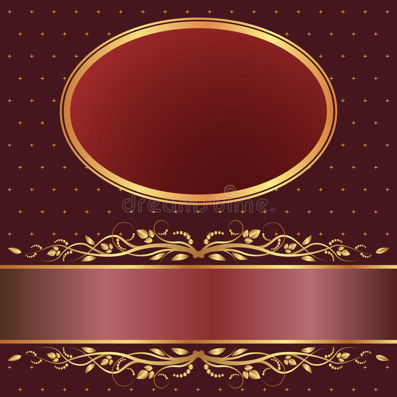 Download Brown and red background stock vector. Image of illustration - 27149540