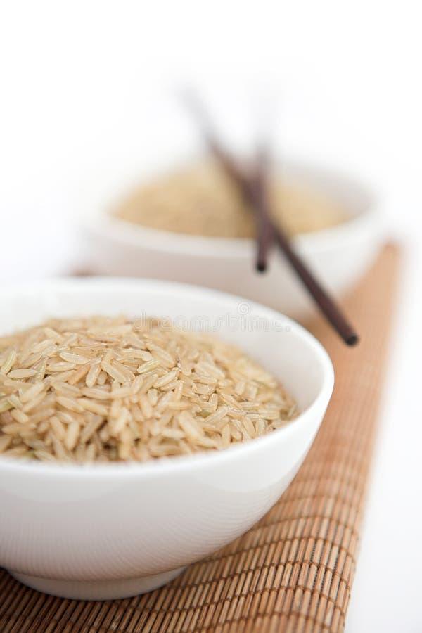Brown-Reis lizenzfreie stockfotos