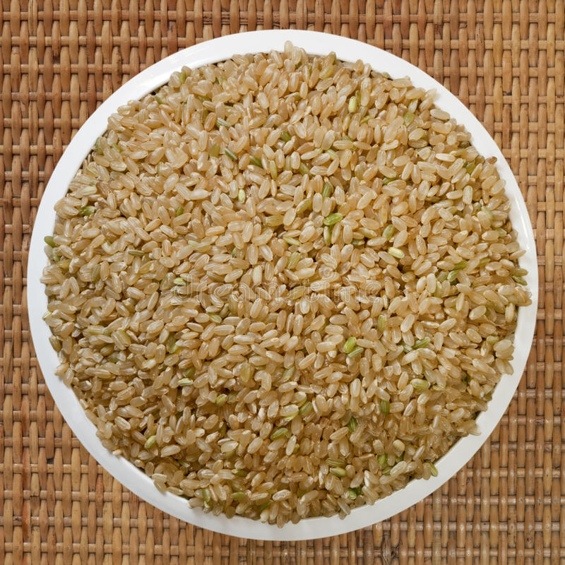 Download Brown Rice stock image. Image of brown, close, food, unprocessed - 14856149