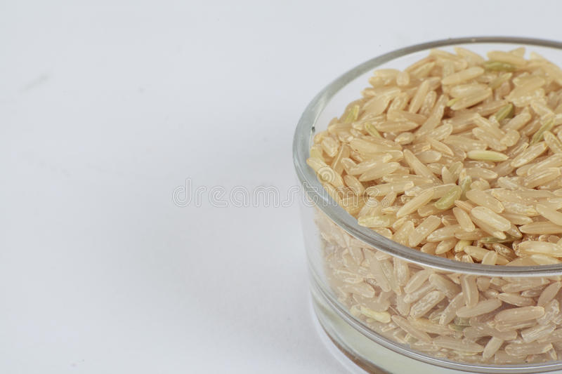 Download Brown rice stock photo. Image of dietary, background - 25737082