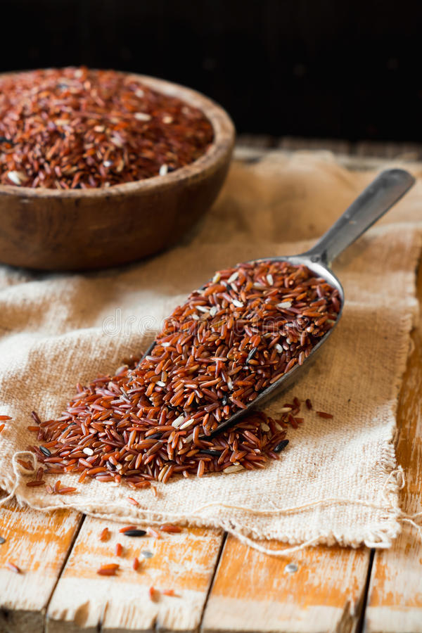 Free Brown Rice Stock Images - 55527724