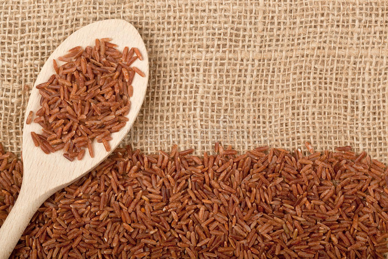 Download Brown rice stock image. Image of food, uncooked, grain - 32041899
