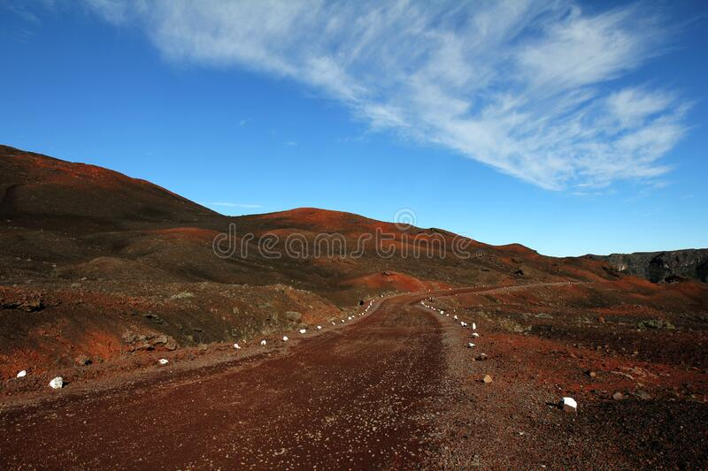 Brown Road Beside Hills Over White Clouds And Blue Sky During Daytime Free Public Domain Cc0 Image