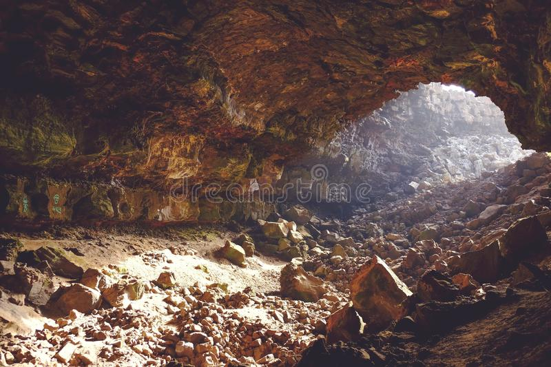 Brown Rocky Cave Free Public Domain Cc0 Image